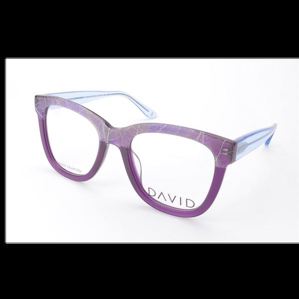 David Green Chela Purple Frame With Free Lenses