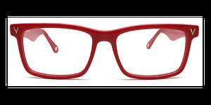 Rectangular Rands Red