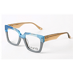 David Green Costello Blue Gray Frame With Free Lenses