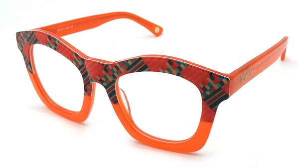 Kente Orange Partial front