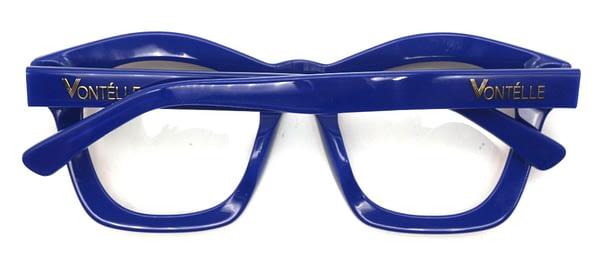 Kente Blue Back folded