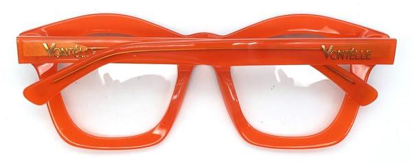 Kente Orange Back folded