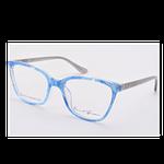 David Green Violet Electric Blue Frames With Free Lenses
